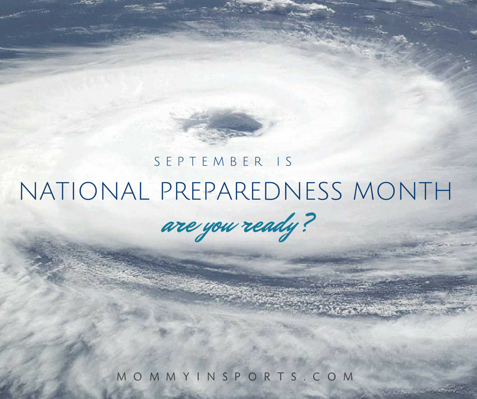 September is National Preparedness