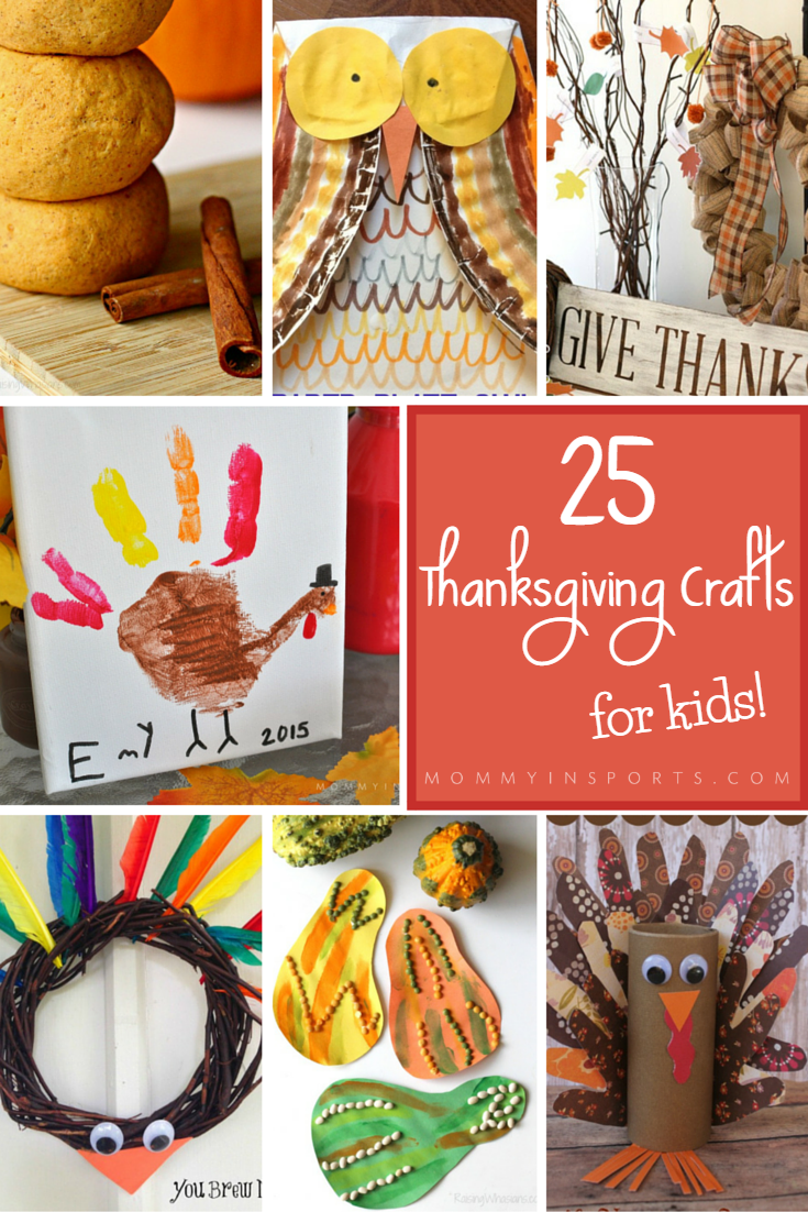 cute turkey hand print   25 thanksgiving crafts for kids