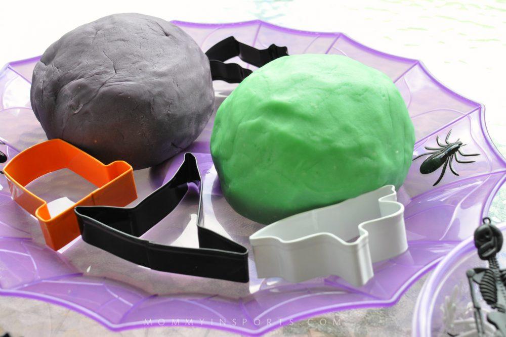 Monster Halloween Play Dough Recipe