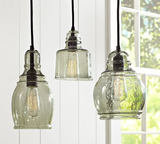 Fixer Upper Inspired Modern Farmhouse Kitchen Lights