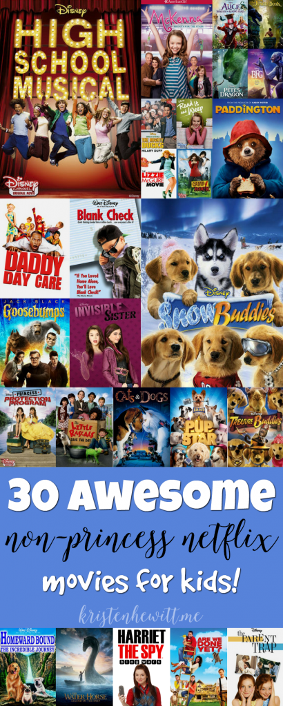 30 Awesome Non Princess Netflix Movies For Kids Collage
